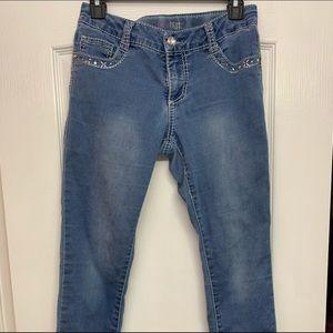 Girls First studded pocket jeans!